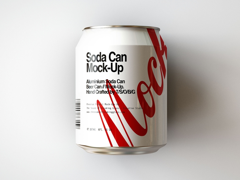 mini soda can beer can mock up joshua connelly on dribbble