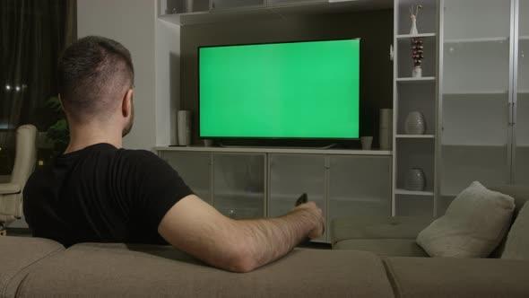 night tv mockup vagoart videohive