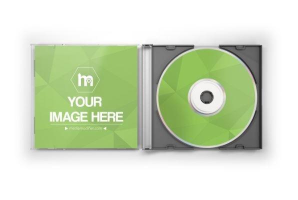open cddvd jewel case mockup generator sharetemplates