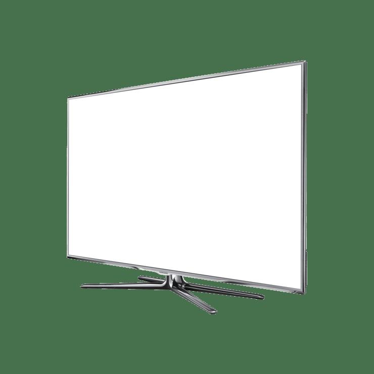 samsung smart tv d8000 mock up