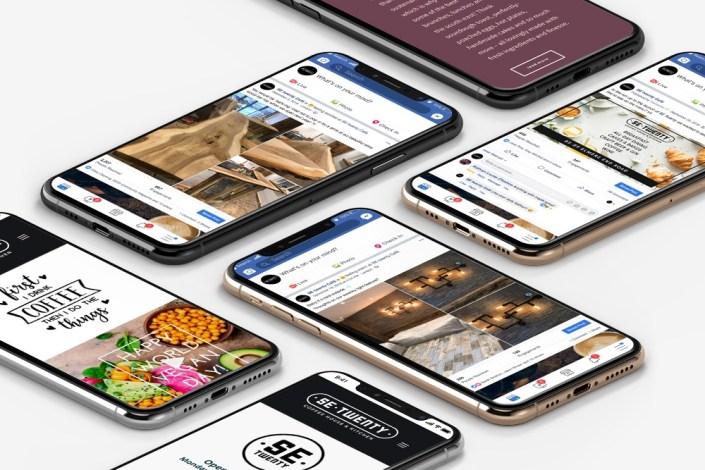 setwenty social media mockup ronin marketing