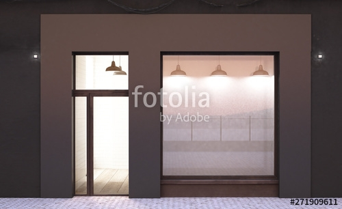 shop storefront mockup stock photo and royalty free images on