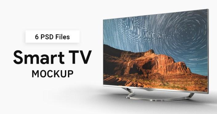 smart tv mock up makiplace