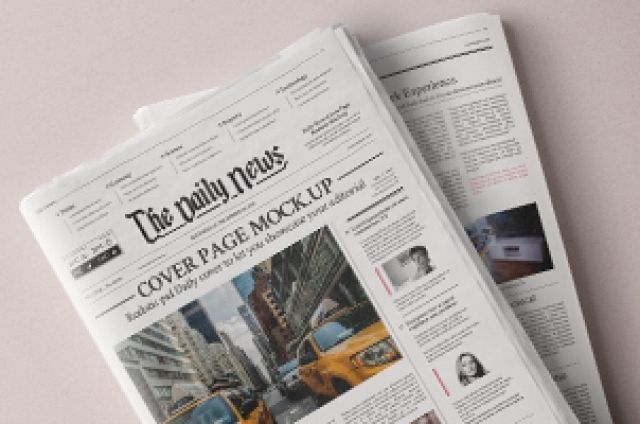 Download Psd Mockup Newspaper Yellowimages