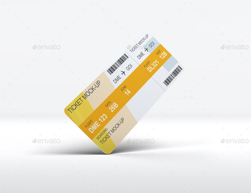 ticket mock up l5design graphicriver