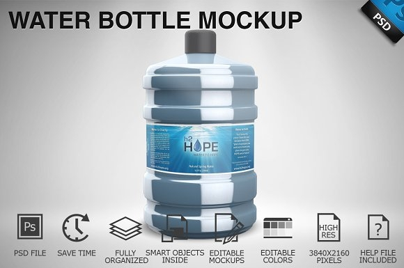 water bottle mockup 01 mockup store