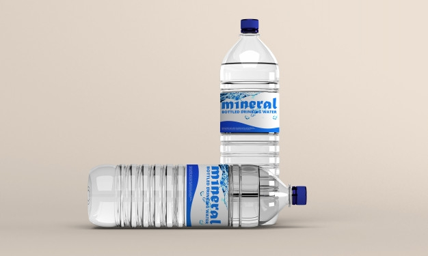 water bottle mockup psd file premium download