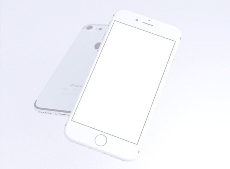 3d rendered iphone 7 mockup set mockup love