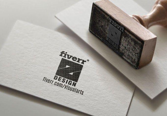 5 best free stamp logo mockup for branding project logo mockup