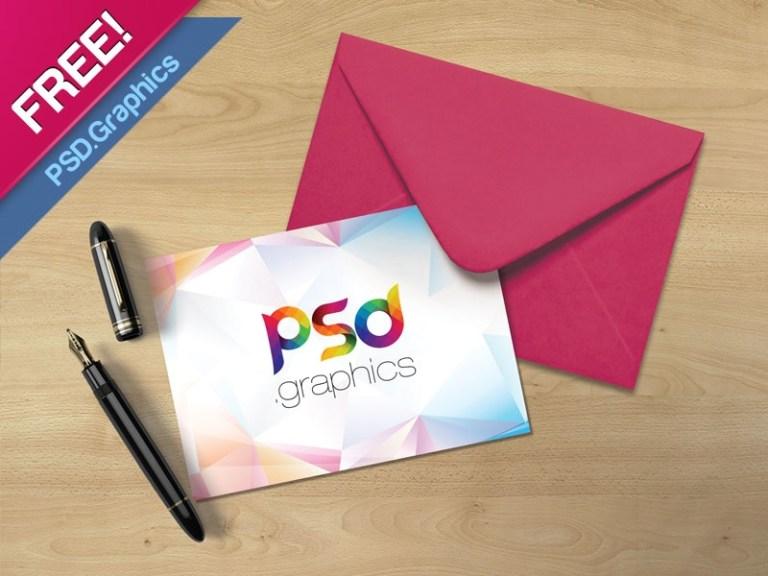 5x7 postcard mockup template free psd psd graphics on dribbble