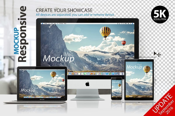 9 computer mockups psd indesign ai format download free
