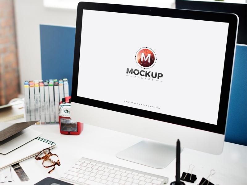 50 Computer Mockup Design Templates Free Psd Candacefaber