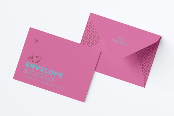 free download a7 envelope mockup in psd designhooks