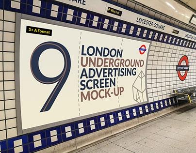 free subway metro screen mockup on behance
