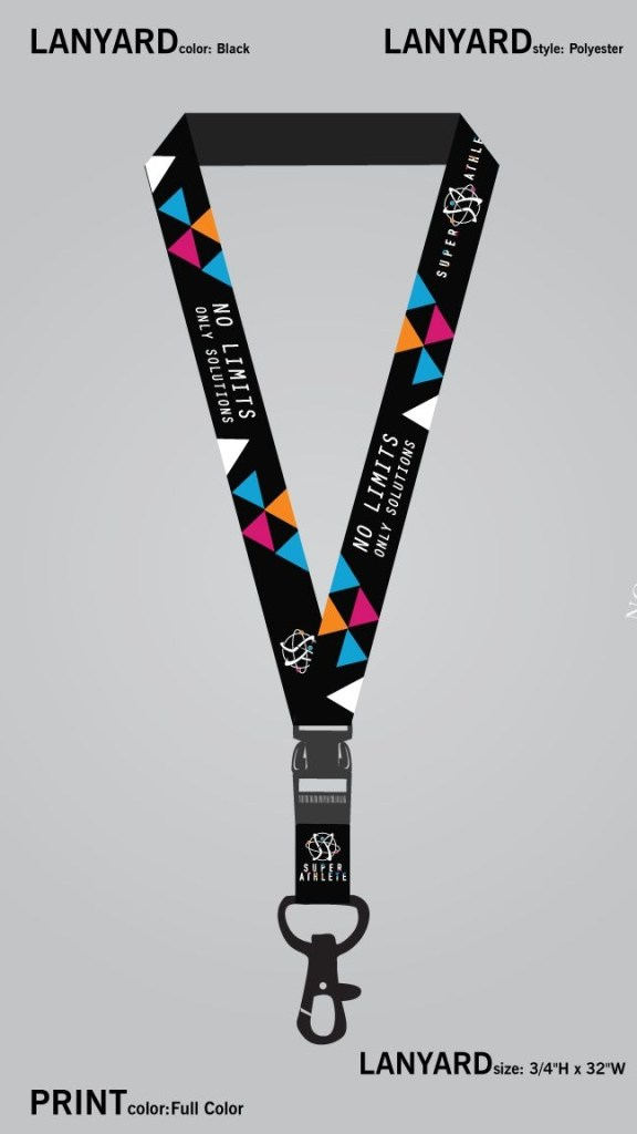 full color lanyard design identity card design print ready
