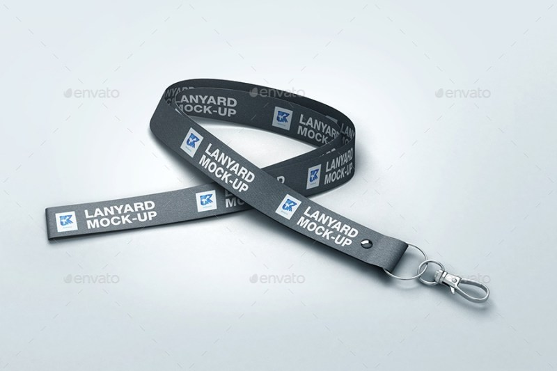 lanyard mock up