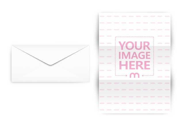 letter and envelope mockup generator mediamodifier