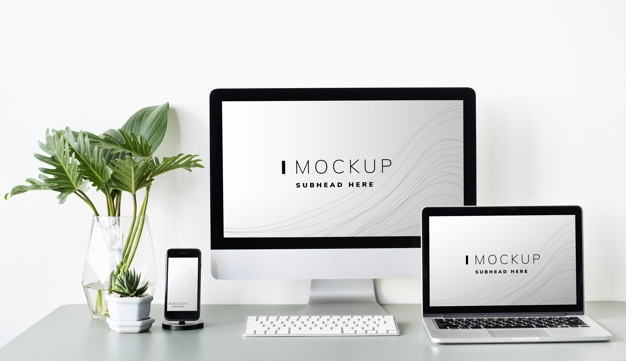 mockup computer vectors photos and psd files free download