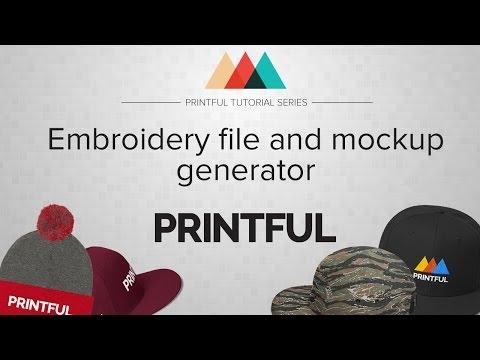 printful embroidery file and mockup generator tutorial 1amberarts