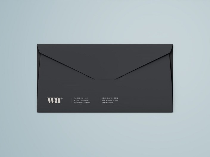 side seam envelope mockup graphic pear on dribbble