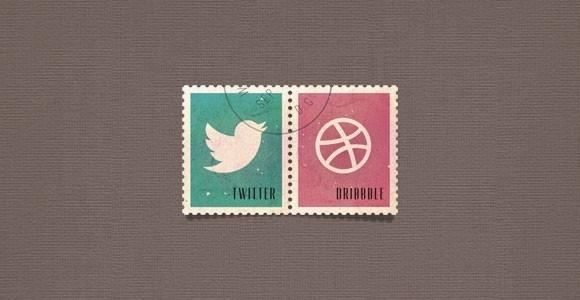social media postage stamps psd freebiesbug
