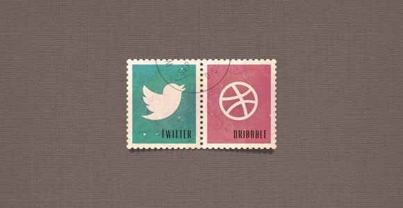 social media postage stamps psd freebiesbug