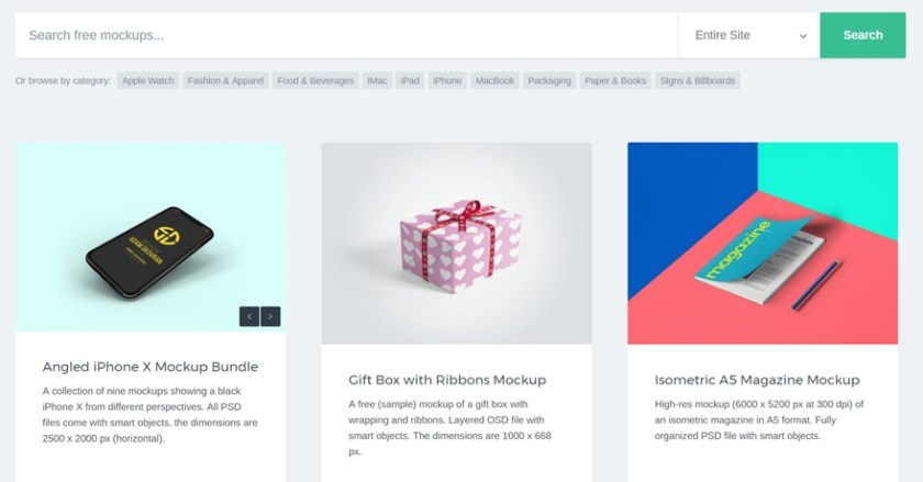 8 great sources for free mockup designs elegant themes blog