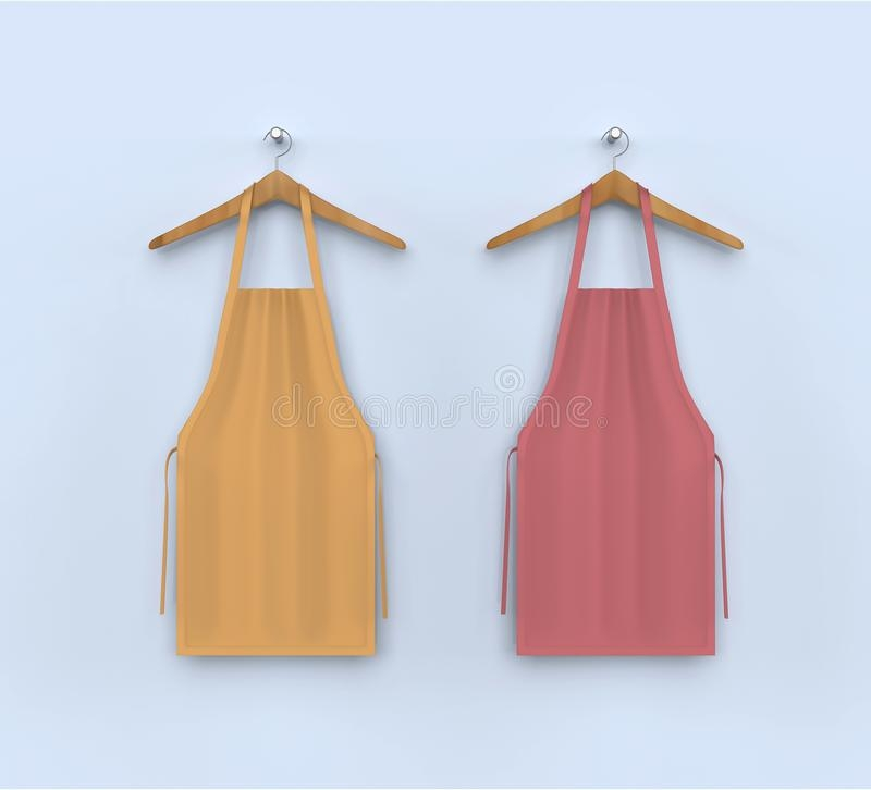 aprons apron stock illustration illustration of mockup