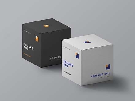 Download Cardboard Box Packaging Mockup Yellowimages