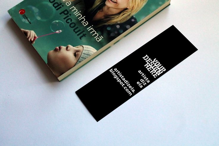 bookmark mockup free commercial use on behance design