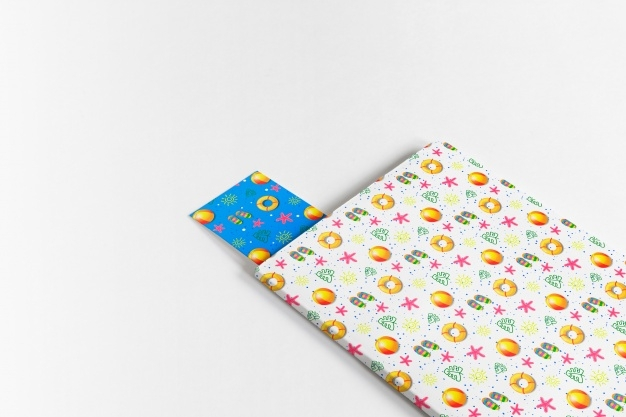 cover and bookmark mockup nohat