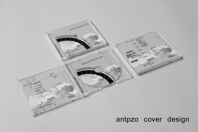 do a photorealistic cd cover mockup