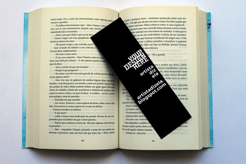 download this free bookmark mockup in psd designhooks