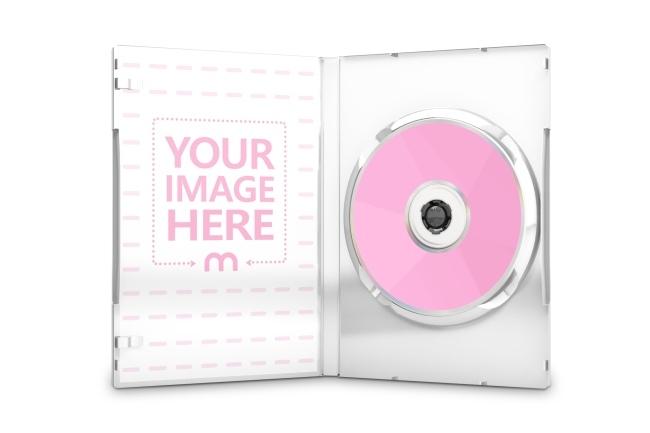 dvd cd cover inner side mockup generator mediamodifier