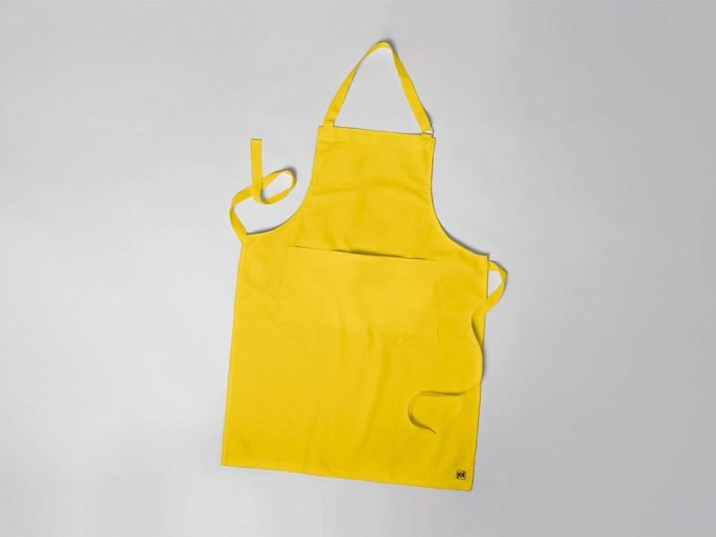 free apron mockup free mockup