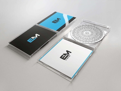 free cd cover mockup presentation arun kumar on dribbble