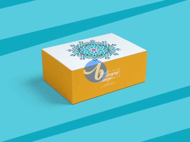 Download Rectangular Box Mockup Free Yellowimages