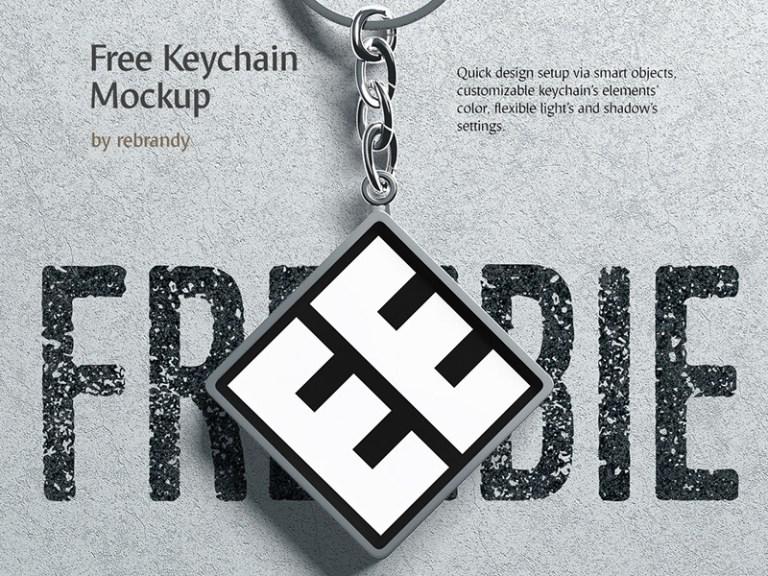 free keychain mockup free mockups best free psd mockups apemockups