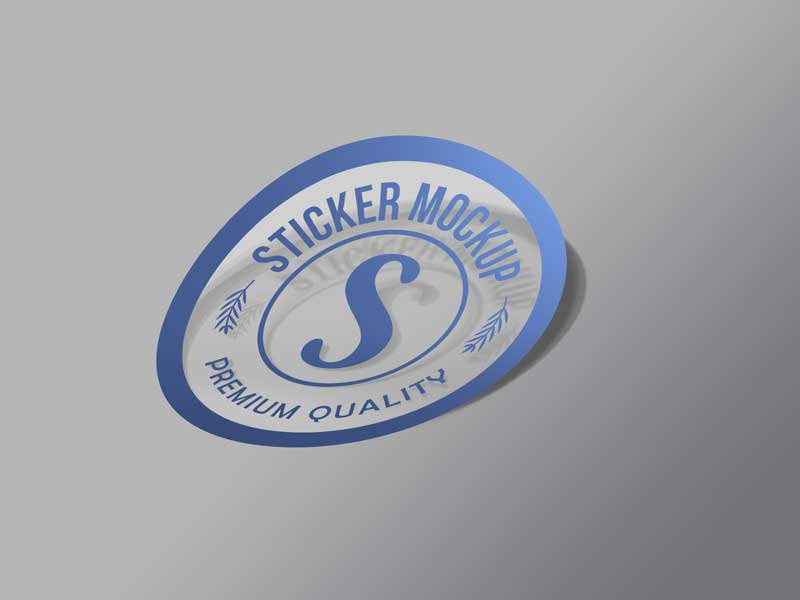 free sticker mockup psd for your next branding project on behance