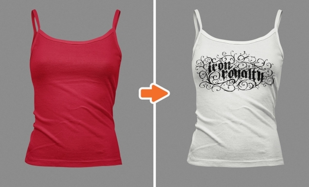ladies tank top mockup templates for use in photoshop