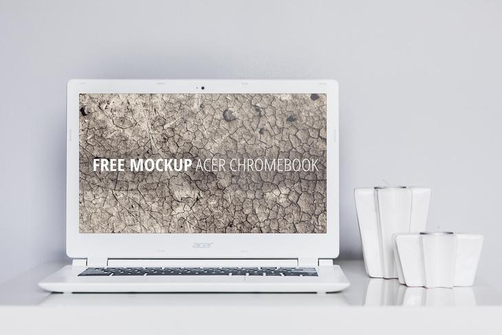 laptop free psd