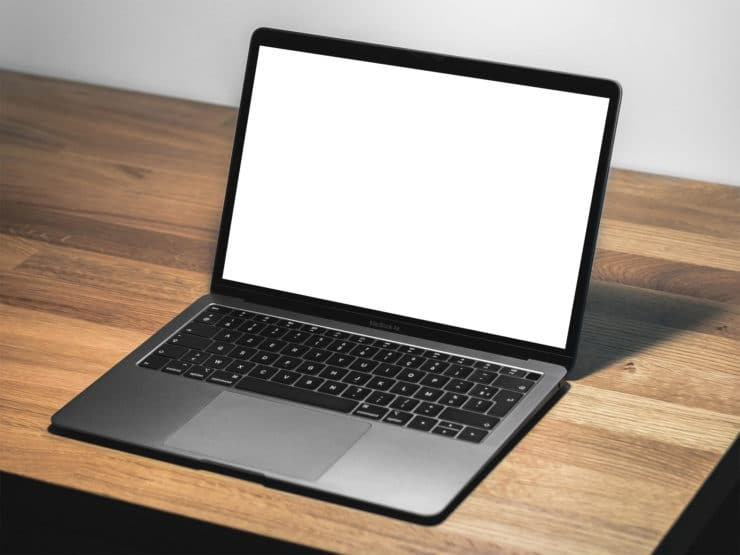 laptop the mockup club