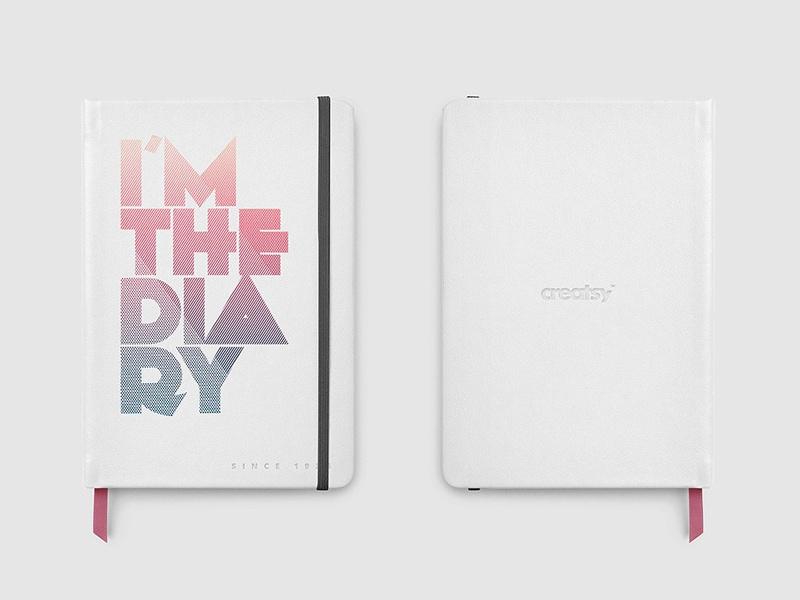 leather notebook mockup set mockup5 on dribbble