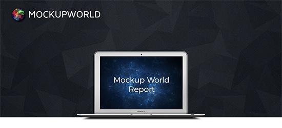 mockup world facebook