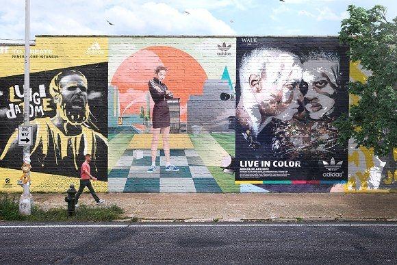 mural street mockup psd asylab on creativemarket