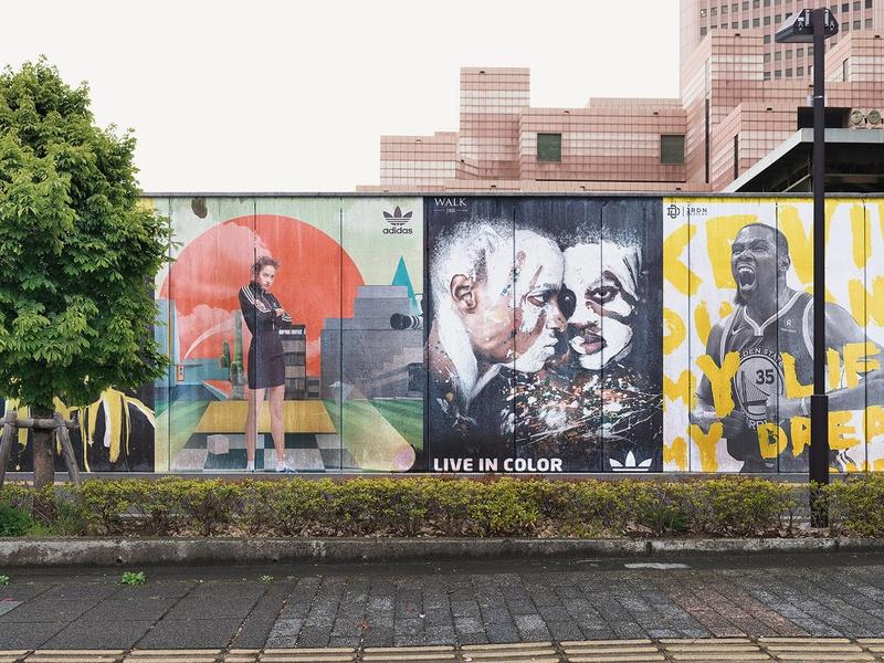 mural wall mockup scenes pixelbuddha on dribbble