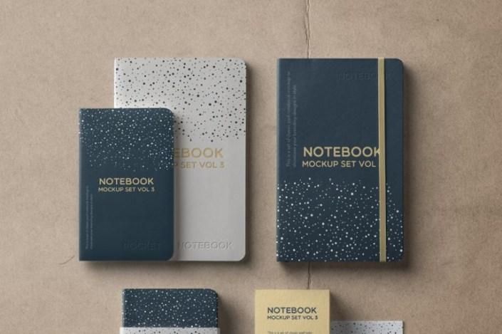 notebook mockup set barnimages