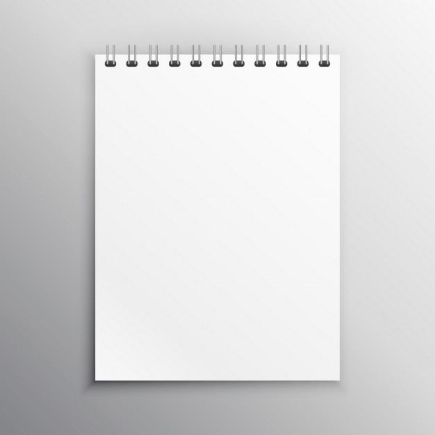 notebook mockup vector free download