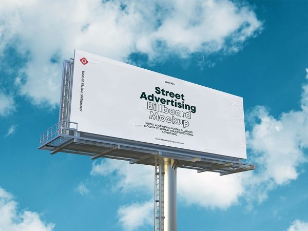 outdoor ad free mockup