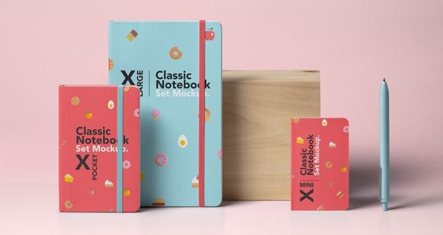 psd notebook mockup set psd mock up templates pixeden